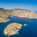 Westseite von Hydra Griechenland