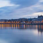 Panoramic view of Danube River thumbnail