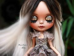 Miss Ada <3 (pure_embers) Tags: pure embers blythe doll dolls laura england uk custom ooak sunshine holiday tan ada embersada takara neo ombre hair alpaca reroot girl photography chailai portrait eyelids sleep