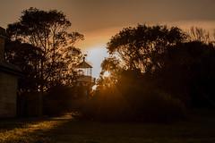 Sunrise Lighthouse (Mvimages) Tags: sunriselover sunirse morning sun lighthouse nature landscape sydney australia sunlight