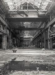 (Scuffles33) Tags: 120film mediumformat mamiya bw filmphotography industrialdecay factory abandoned ilford hp5