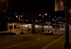 Outbound - Embarcadero & Townsend (imartin92) Tags: sanfrancisco municipal railway california muni light rail vehicle lrv breda lrv2 lrv3 railroad transit