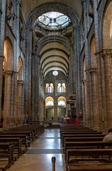 Interior de la Catedral de Santiago de Compostela. (Fotgrafo-robby25) Tags: acoruña catedraldesantiagodecompostela españa galicia lugares sonyalpha7riii sonyfe424105goss santiagodecompostela