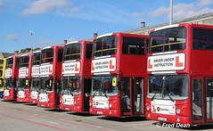 Dublin Bus Driving School. (Fred Dean Jnr) Tags: av42 av43 av268 av212 av82 av224 av267 00d40042 00d40043 02d20268 01d20212 00d40082 01d10224 02d20267 dublinbusdrivingschool broadstone september2018 volvo b7tl alexander alx400 busathacliath dublinbus dublin buseireannbroadstonedepot