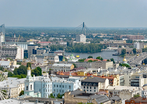 Kyiv seen from St. Andrew's church (2)