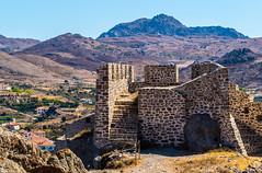 Castle Ruins (Myrina Castle -  Limnos - Greece) (Olympus OM-D EM1-II & M.Zuiko 40-150mm f2.8 with MC14 Teleconverter) (1 of 1) (markdbaynham) Tags: greece greek hellas hellenic grecia greka gr greekisland greekholiday greektown northaegean northaegeanisland aegeanisland travel olympus omd olympusomd olympusgreece olympusmft olympusem1 m43 m43rd micro43 em1 em1mk2 em1mark2 em1ii csc evil mirrorless microfourthird microfourthirds greektravel hellenicisland limnos lemnos myrina mypina myrinatown mc14 40150mm mzd mz zd mzuiko zuikolic castle myrinacastle