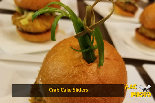 "Crab cake sliders • <a style=""font-size:0.8em;"" href=""http://www.flickr.com/photos/159796538@N03/44363144334/"" target=""_blank"">View on Flickr</a>"