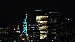 Miss Liberty & The Chrysler & The Empire State Buildings (CONTROTONO) Tags: awesome arch art architecture beautiful brass bubble building glass mirror longexposure ceiling controtono drama exploration fresco gallery hall location marble mosaic paint painting palace perspective room school show stained stone stucco supershot texture tourist travel view wallpainting column construction angel abbey river manhattan newyork skyline night sparkling citylight reflection statueofliberty