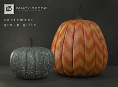 September Group Gifts (fancydecorsl) Tags: sl second life freebie gift fancy decor