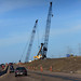 Interchange of highways 216 (Anthony Henday Drive) and 16 (Yellowhead) construction 2014-09-21