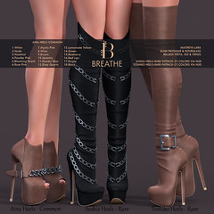 [BREATHE]-Aina, Saskia & Toshiko Heels ([Breathe]) Tags: breathe secondlife mesh heels slink maitreya belleza theepiphany gacha
