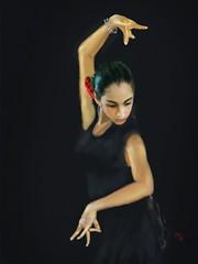 Flamenco Lesson (Pat McDonald) Tags: albaicin andalucía andalus argentina artrage bailaora bailaoras bailar bale ballerina ballet ballo beauty flamenco españa digitalart danse dans dance castanet buenosaires flavio~ gibraltar gitana guapa guapísima guitarist lalíneadelaconcepción italy israel madrid mediterraneanfleet retrato sevilla seville spain