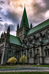 Nidaros Cathedral (Sparegris1966) Tags: nidaros cathedral nidarosdomen trondheim norway church stonework nikon d500