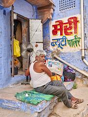 Jodhpur - India (Joao Eduardo Figueiredo) Tags: jodhpur india blue city bluecity nikon nikond850 d850 joaofigueiredo joaoeduardofigueiredo rajasthan