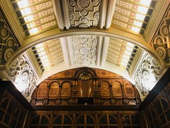 The Shakespeare Memorial Room, Birmingham Library 2018 (Dave_Johnson) Tags: midlands westmidlands birmingham libraryofbirmingham birminghamlibrary library shakespearecollection shakespeare williamshakespeare shakespearememorialroom memorialroom book books