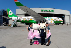 "EVA Air Airbus A330-203 ""Hello Kitty Jet"" c/s B-16309 (Manuel Negrerie) Tags: eva air airbus a330203 hellokittyjet cs b16309 br sanrio japan taiwan manga spotting egat evergreen airbusa330 a330 canon taoyuanairport tpe cks mro maintenance design livery"