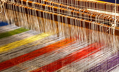 impact (Robby van Moor) Tags: color colour impact wire loom weaving weave