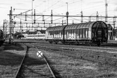 Sweden - Varberg (Marcial Bernabeu) Tags: goods trains goodstrain tren mercancias mercancías marcial bernabeu bernabéu monocromo monochrome sweden swedish scandinavia suecia sueco sueca escandinavia varberg
