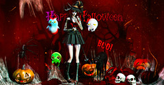 0813 (Luna X Takemitsu) Tags: ayashi vip groupgift gg gimme gacha gachaland { speakeasy } {demicorn} the mystic seasons story tss k{3}p bada rare bearded guy vanity event ~the green door~ yokai okinawa panic pumpkin