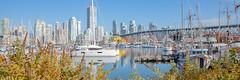 Boats, yachts and the Marina (jaicobpipun) Tags: wideangle catamaran lagoon granvilleislandfalsecreek