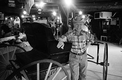 Arcadia, OK (cestlameremichel) Tags: bnw minolta dynax 40 filmisnotdead ilford super xp2 400 monochrome monochromatic analog analogue analogica argentique 35mm film route 66 oklahoma illinois missouri kansas roadtrip