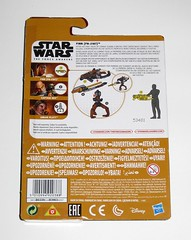 finn fn-2187 star wars the force awakens build a weapon desert mission basic action figure hasbro 2015 mosc 2b (tjparkside) Tags: finn fn 2187 desert mission ep episode vii 7 seven tfa basic action figure figures 5 poa points articulation star wars 2015 2016 hasbro stormtrooper first order 1st empire imperial soldier baw build weapon buildaweapon blaster helmet traitor disney stormtroopers blood rifle unkar plutt captain rex