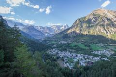 Pré Saint Didier (stereoby) Tags: pre saint didier passerella valle daosta aosta