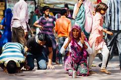Praying Pilgrim, Uttar Pradesh India (AdamCohn) Tags: adam cohn uttar pradesh india mathura vrindavan holi pilgrim pilgrimage pilgrimmage pilgrims prostrate prostrating prostration streetphotographystreetphotographer wwwadamcohncom adamcohn uttarpradesh isapurbanger