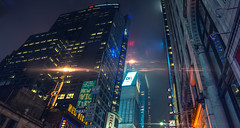 20 Minutes into the Future (Bram Cornejo) Tags: bladerunneresque noir anamorphic flare flares bladerunner cinematic cinematicphotography colorgrading newyork nyc timessquare manhattan