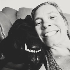 9/12 Dunkel and Deb  - Just the Two of Us (d2roberts) Tags: 12monthsfordogs18 dunkel labrador selfie