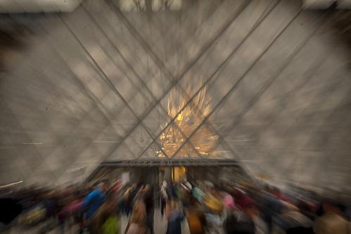 Paris, zoom effect