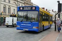 KU02 YTZ Cardiff 17/09/18 (Csalem's Lot) Tags: cardiff bus ku02ytz dennis dart pointer trainer newadventuretravel nat dukestreet