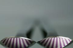 two spoons (Elisabeth patchwork) Tags: löffelmitstreifen spoons stripes macro perfectmatch sigma sigmasdquattro sigma105mm löffel