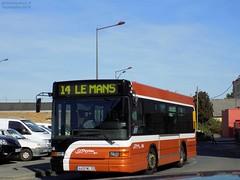 Heuliez GX 117 n°904 (ChristopherSNCF56) Tags: transport urbains reseau setram ligne 14 le mans lemans bus heuliez gx117 904
