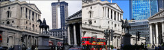 Bank Junction`1968-2018 (roll the dice) Tags: london city squaremile ec3 ec4 mad sad vanished demolished site construction surreal changes collection old bygone retro sixties streetfurniture architecture traffic bus travel transport people fashion canon tourism tourists oldandnew pastandpresent hereandnow england urban uk classic art local history nostalgia comparison grade 2 listed murals commerce redevelopment columns dirty clean offices windows clock cars tower42 lights natwest dreamgirls