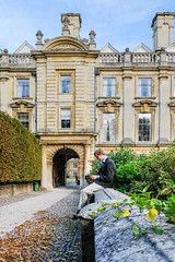 Clare College (Sir Cam @camdiary) Tags: cambridge camdiary cambridgeuniversity clarecollege student reading rupert architecture autumn
