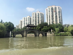 Kaiserkanal Grand Canal Hangzhou China (flashpacker-travelguide.de) Tags: china kaiserkanalhangzhou grandcanalhangzhou grand canal grandcanal schiffe wassertaxi boats kaiserkanal fluss flusshangzhou river boot
