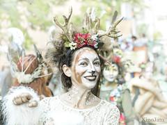 Pasacalles Pilar 2018: Cervatillo (kinojam) Tags: pilares pasacalles zaragoza maquillaje makeup retrato portrait desenfoque people kino kinojam canon canon6d