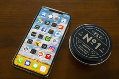 0924 New iPhone Xs Max and Fly Pomade