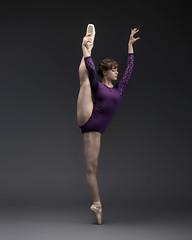 Hannah (Photography of Dance) Tags: ballerina ballet pointeshoes nikon d850 paulcbuff einstein savageseamless pointeshoe leotard girl youngballerina beautiful einsteins savagepaper tutu silverefx