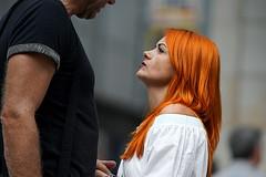 gorgeous orange (tom sorel) Tags: woman girl sensuality light face love people beauty glamour art creative fashion