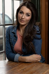 Carly (austinspace) Tags: woman portrait model spokane coeur dalene idaho summer rain rainy beautiful brunette