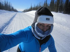 Selfie, first day on the Dempster Highway