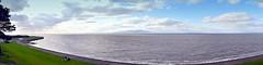 Silloth Seafront, Cumbria (Manoo Mistry) Tags: panorama panoramic cumbria northwest englanduk sky trees mountain sea seaside seascape seafront seashore