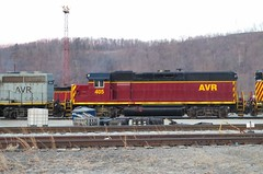 AVR 405 (Fan-T) Tags: avr glenwood pa bo emd gp40 405 slug