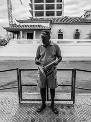 Untitled #24 (Miguel.Galvão) Tags: street photography rua people portrait black white colours monochrome algarve monte gordo fotografia galvão miguel mobile huawei p8 lite old no country for men este país não é para velhos portugal summer endless