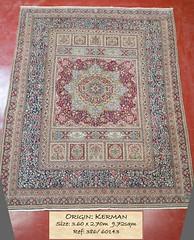 386 Kerman 360x270 9.72 (Persian Rugs UK) Tags: 360x270 386 60143 972 kerman ketabcover loc medallion persian signed