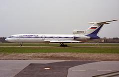 RA-85638 - Hamburg Fuhlsbüttel (HAM) 15.04.2000 (Jakob_DK) Tags: t154 tupolev154m tupolev tupolevtu154 tu154 tu154careless tupolev154 tupolevtu154m tu154m eddh ham hamburgfuhlsbüttel hamburgairport flughafenhamburg hamburghelmutschmidtairport afl aeroflot aeroflotrussianairlines 2000 ra85638