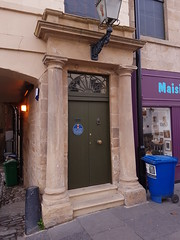 St Catherine St, part of (172) (Daniel Muirhead) Tags: scotland cupar st catherine street burgh chambers doorway