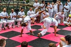 2018-9-8 Grupo Ondas capoeira batizado, graduation at WaterFire (Photograph by Tom Backman) (1)
